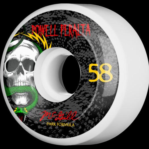 Powell Peralta McGill Skull and Snake Skateboard Wheels 58mm 104A 4pk