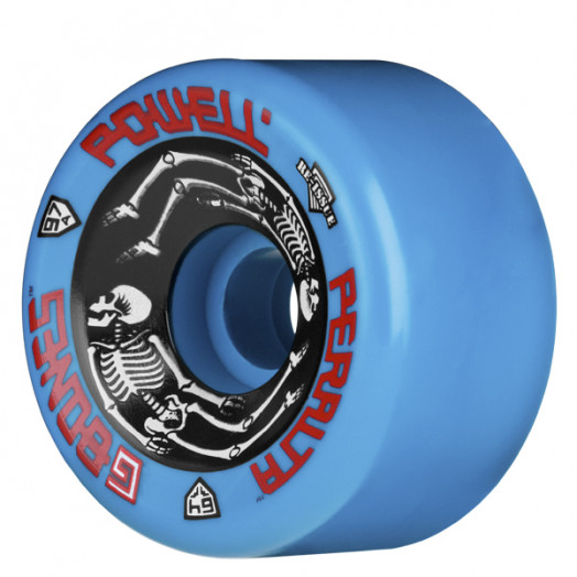 6b800209ccc Powell Peralta G-Bones Wheels Blue 64 97a (4 pack) - Powell-Peralta®
