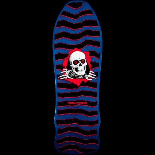 80acbfb43682b Powell Peralta Gee Gah Ripper Skateboard Deck Blue - 9.75 x 30 - Powell- Peralta®