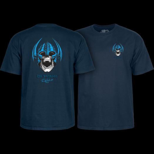 Powell Peralta Welinder Nordic Skull T-shirt Navy