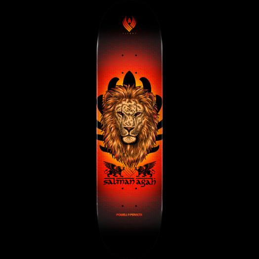 Powell Peralta Flight® Salman Agah Lion Skateboard Deck - Shape 245 - 8.75 x 32.95