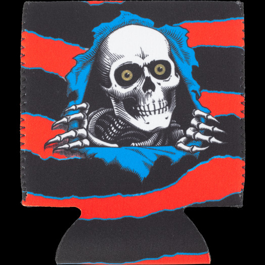 Powell Peralta Ripper Koozie Red
