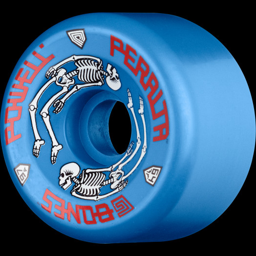 22046330840 Powell Peralta G-Bones Skateboard Wheels 64mm 97a - Blue (4 pack) - Powell- Peralta®