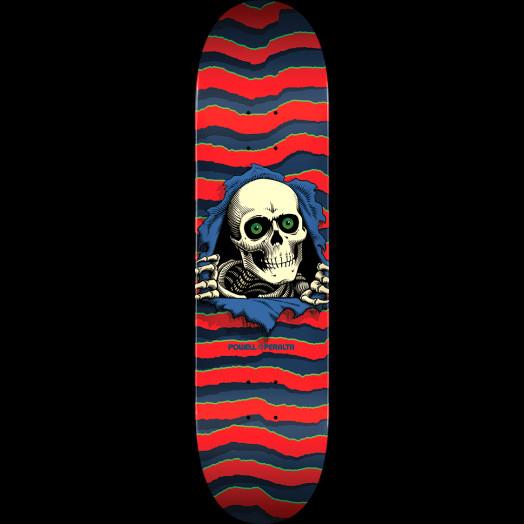 Powell Peralta Ripper Skateboard Deck Red - Shape 243 - 8.25 x 31.95 -  Powell-Peralta® 545f8e41439