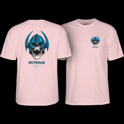 Powell Peralta Welinder Skull T-shirt Light Pink