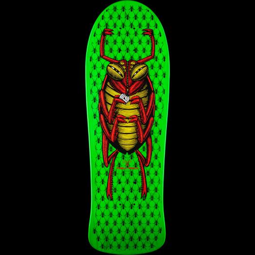 Powell Peralta OG Bug Skateboard Deck - 9.85 x 29.6