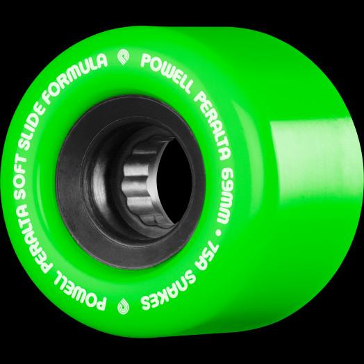 Powell Peralta Snakes Skateboard Wheels 69mm 75a 4pk Green Powell Peralta