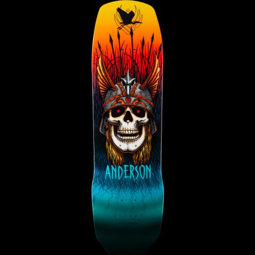 Powell Peralta Pro Andy Anderson Crane Flight® Skateboard Deck - 9.13 x 32.8