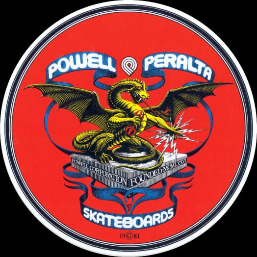 Powell Peralta Banner Dragon Sticker (20 pack)