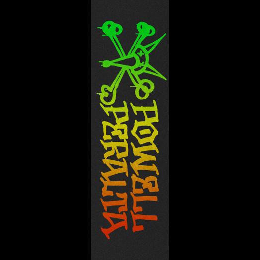 Powell Peralta Grip Tape Sheet 10.5 x 33 Vato Rat Fade (Black)