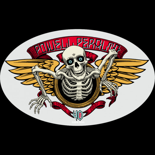powell peralta 40th anniversary single sticker powell peralta