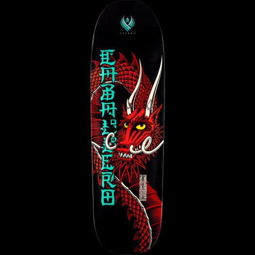 Powell Peralta Steve Caballero Ban This Flight® Skateboard Deck - Shape 192 - 9.265 x 32