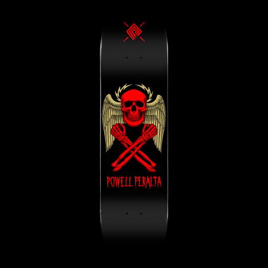 Powell Peralta Halo Bolt Blem Skateboard Deck Black 248 K20 - 8.25 x 31.95