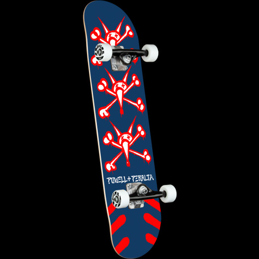 Powell Peralta Vato Rats One Off Navy Birch Complete Skateboard - 8.25 x 31.95