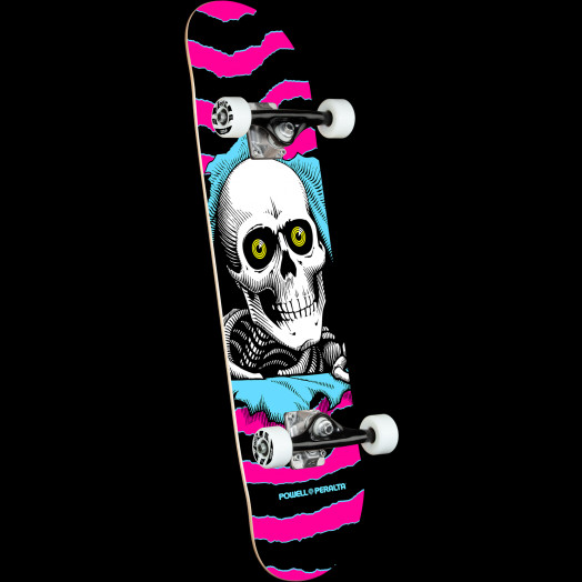 Powell Peralta Ripper One Off Pink Complete Complete Skateboard - 7.75 x 31.08