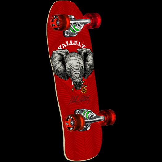 Powell Peralta Mike Vallely Baby Elephant Mini Complete Skateboard - 8 x 26