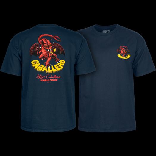 Powell Peralta Steve Caballero Dragon II T-shirt - Navy