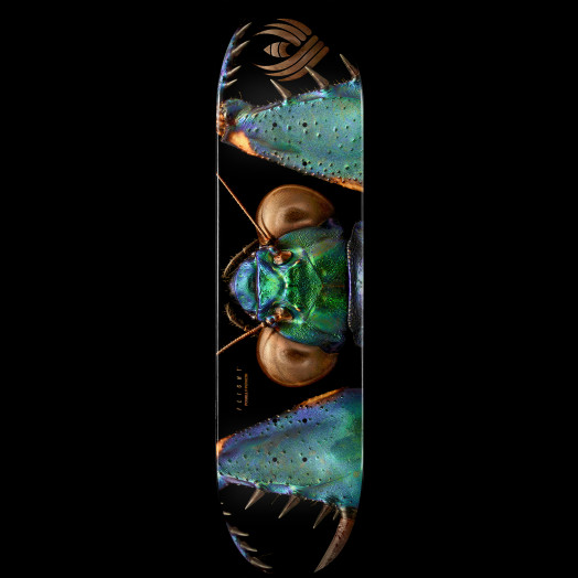 Powell Peralta Flight® Skateboard Deck BISS Bark Mantis - Shape 245 - 8.75 x 32.95