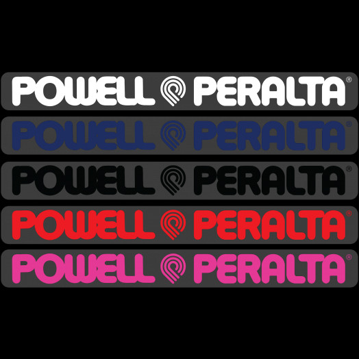 Powell Peralta Sticker (Single) - One each color