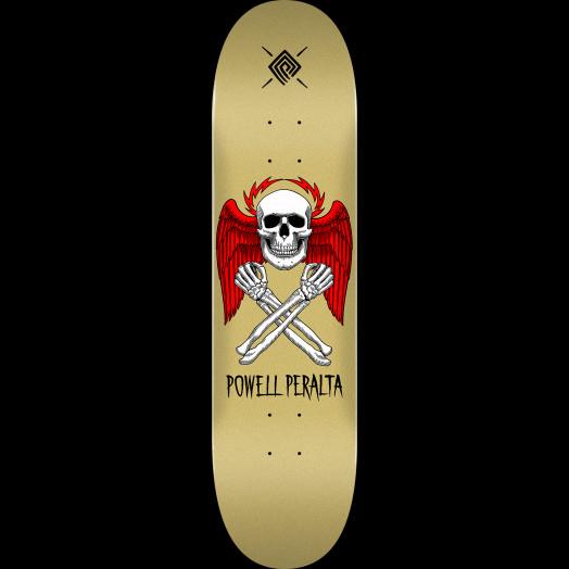 Powell Peralta Halo Bolt Skateboard Deck Gold - Shape 247 - 8 x 31.45