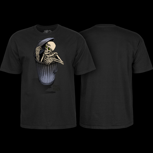 Powell Peralta Garbage Skelly T-shirt Black