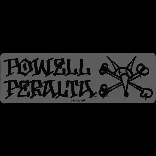 Powell Peralta Vato Rat Sticker (Singles)-both colors