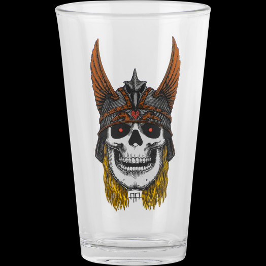 Powell Peralta Pint Glass Andy Anderson