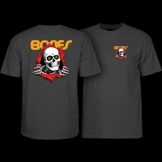 Powell Peralta Ripper T-Shirt - Charcoal Heather