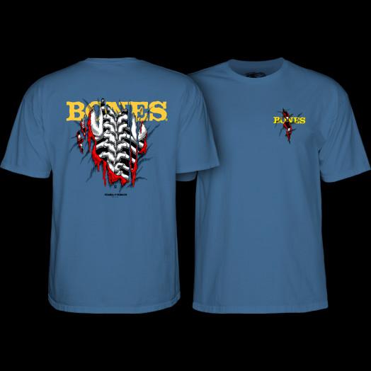 Powell Peralta Shred T-shirt Slate Blue