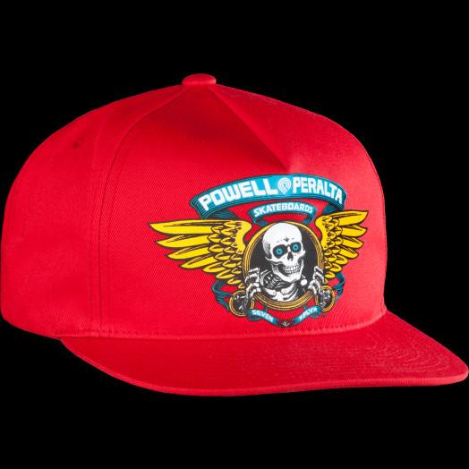 Powell Peralta Ripper Mesh Hat Snapback Black OG Bones Brigade Skateboard NEW