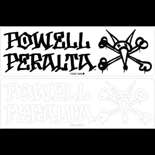Powell Peralta Vato Rat Sticker (20 pack)