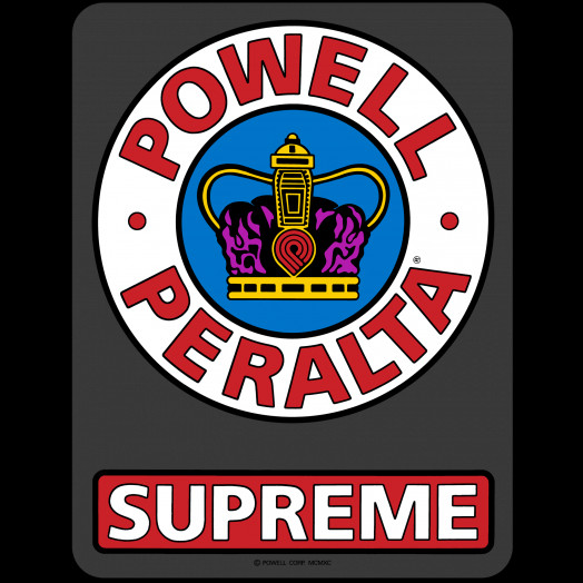 "Powell Peralta Supreme OG Sticker 6"" 10pk"