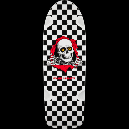 Powell Peralta OG RIpper Skateboard Deck Black/White - 10 x 31