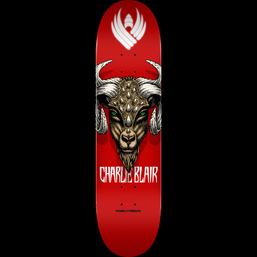 Powell Peralta Pro Charlie Blair Goat Flight® Skateboard Deck - Shape 243 - 8.25 x 31.95
