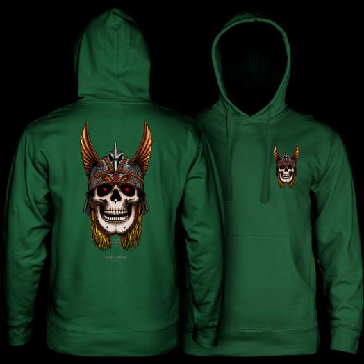 Powell Peralta Anderson Sweatshirt Hooded Mid Weight Alpine Green