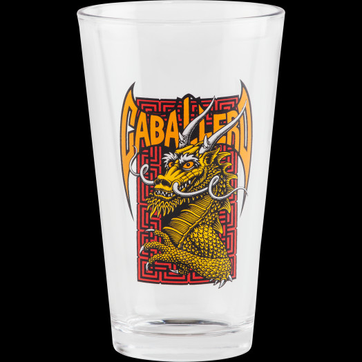 Powell Peralta Pint Glass Cab Street Dragon