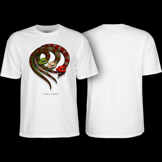 Powell Peralta Snakes T-shirt White