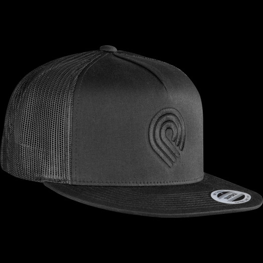 Powell Peralta Triple P Trucker Cap - Black