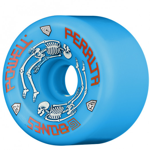 5a04875185d Powell Peralta G-Bones II Blue Wheels (4 pack) - Powell-Peralta®