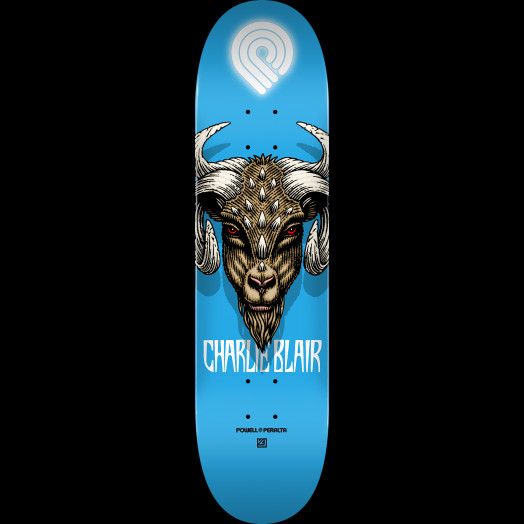 Powell Peralta Pro Charlie Blair Goat 2 Skateboard Deck - Shape 244 K20 - 8.5 x 32.08