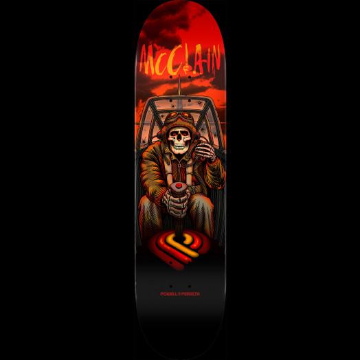 Powell Peralta Pro Brad McClain Pilot Blem Skateboard Deck 244 K20 - 8.5 X 32