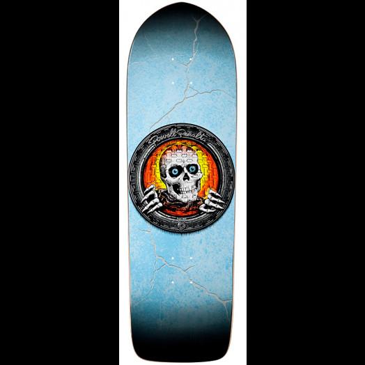 Powell Peralta Orange Pool Light Ripper Skateboard Deck - 10 x 32.375