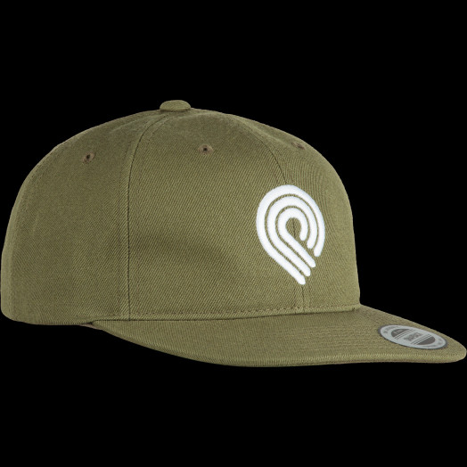 Powell Peralta 3P Snapback Cap Military Green