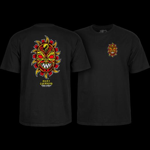 Powell Peralta Nicky Guerrero Mask T-Shirt Black