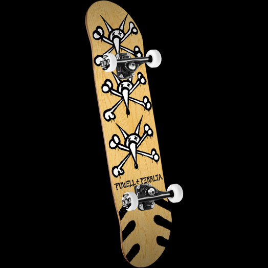 Powell Peralta Vato Rats '15' Skateboard Complete Natural - 8.25 x 32.5