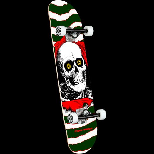 Powell Peralta Ripper One Off Green Birch Complete Skateboard - 7 x 28