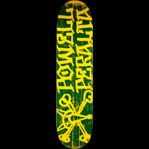 Powell Peralta Vato Rat Skateboard Deck Green - 7.88 x 31.67