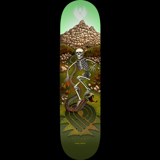 Powell Peralta Pro JM Duran Slidewinder 2 Flight® Skateboard Deck - 8.88 x 34.7