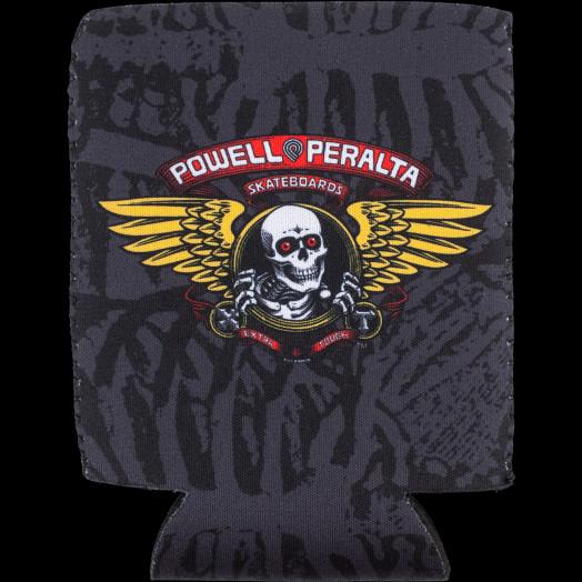 Powell Peralta Winged Ripper Koozie Black