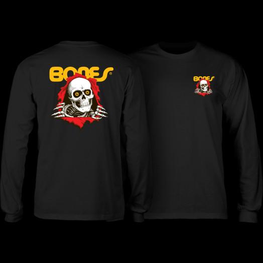 Powell Peralta Ripper YOUTH L/S T-shirt - Black